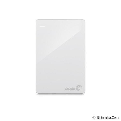 SEAGATE Backup Plus SLIM USB 3.0 1TB [STDR1000307] - White - Hard Disk External 2.5 Inch